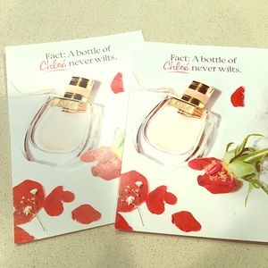A~ free with purchase Chloe samples